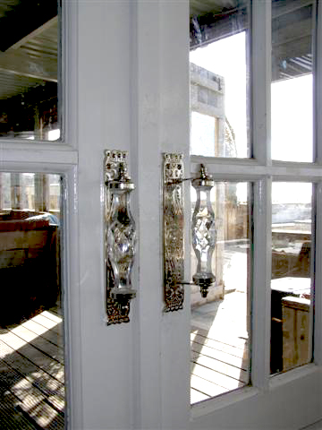 Deurknoppen shop met ouderwets deurbeslag, porseleinen kastknoppen ...